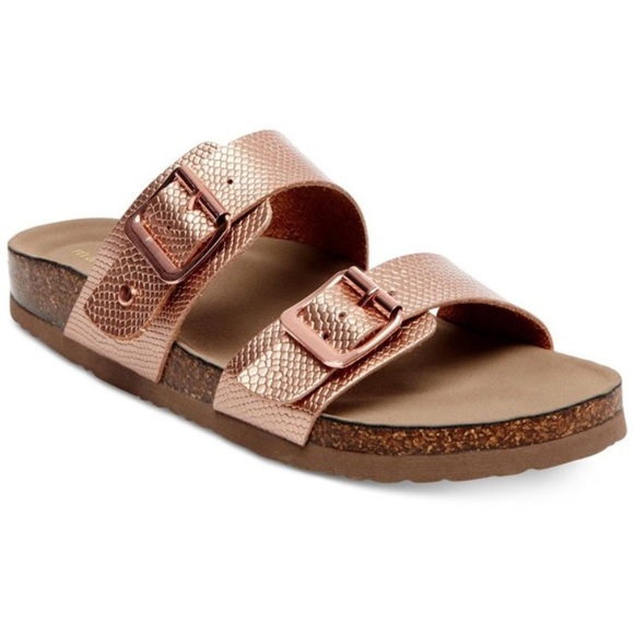 162f1d1eb53 Madden Girl Shoes - Madden Girl Rose Gold Sandals